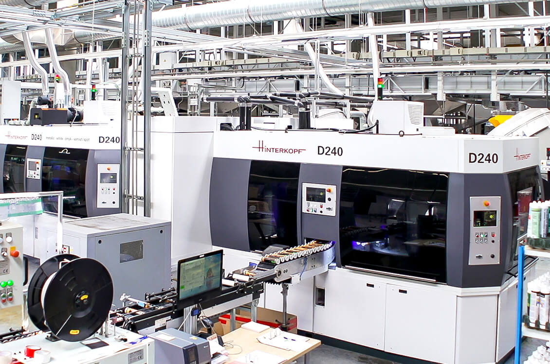 Ritter orders 3rd Digital Printing Machine - Hinterkopf